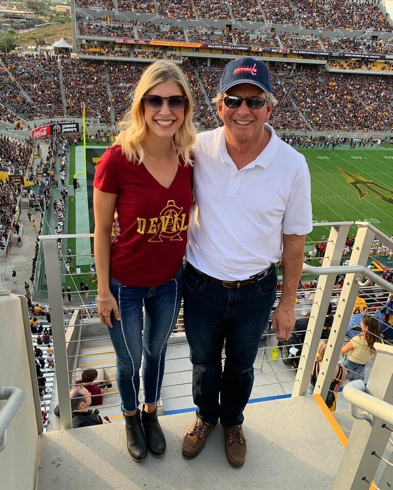 Allison Gargaro & her girl dad