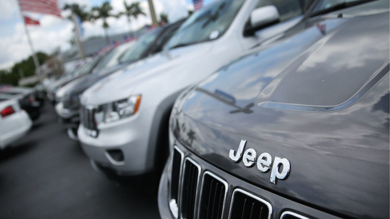 Fiat Chrysler recalls 89K vehicles