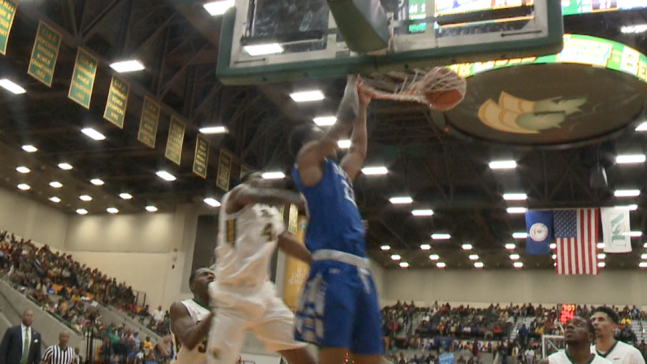Hampton men's basketball beats Norfolk State to claim Battle of the Bay, share of MEACtitle