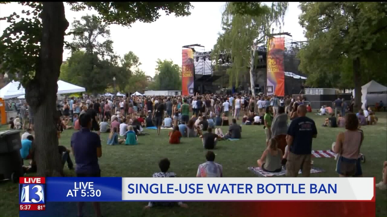Living Traditions, other festivals banning sale of single-use plastic water bottles