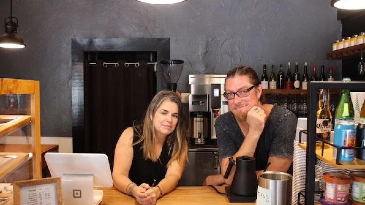 Fuel Pump serving up coffee and wine in Carytown