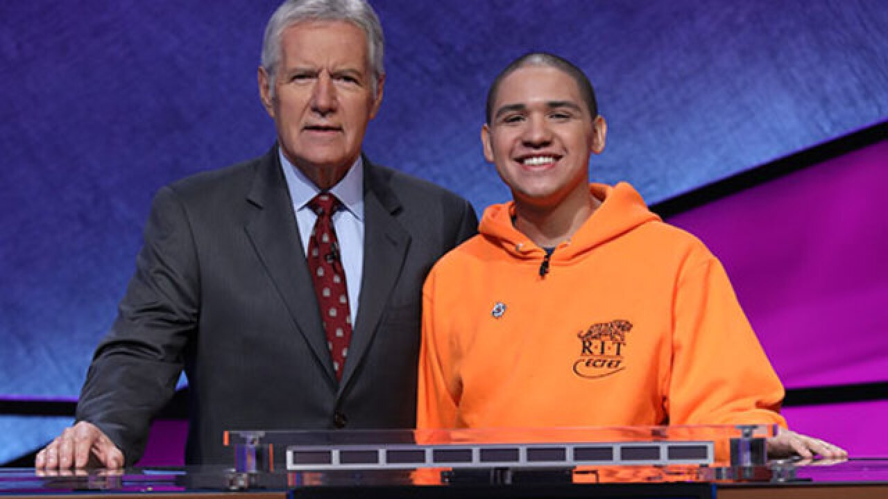 Buffalo native competes on 'Jeopardy!'