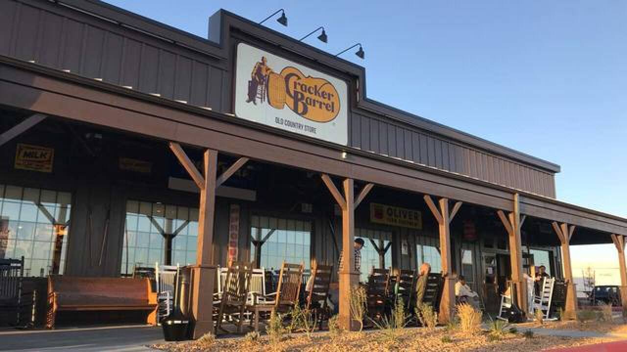 Cracker Barrel Expected To Add Three More Restaurants In