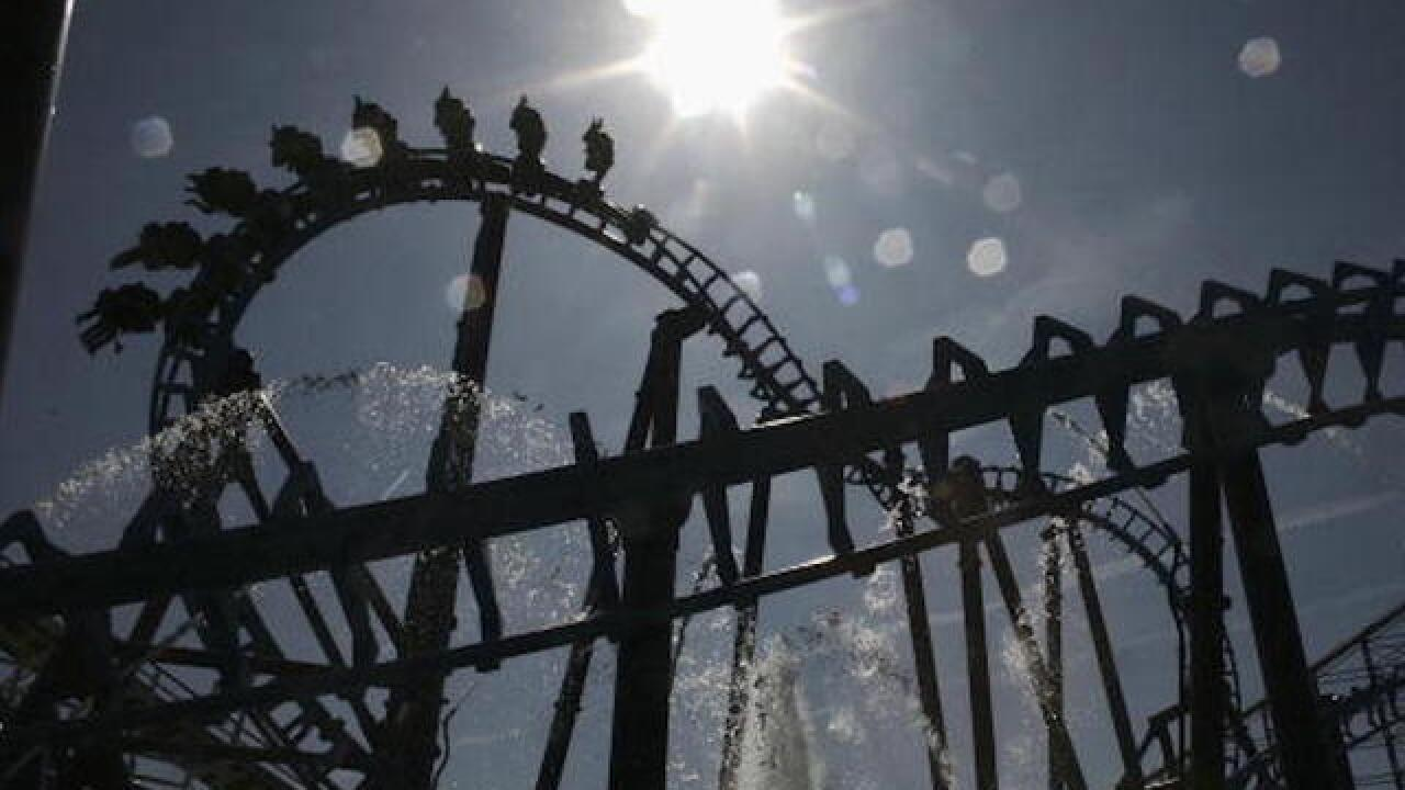 Roller coaster derails at Scottish theme park, 11 people injured