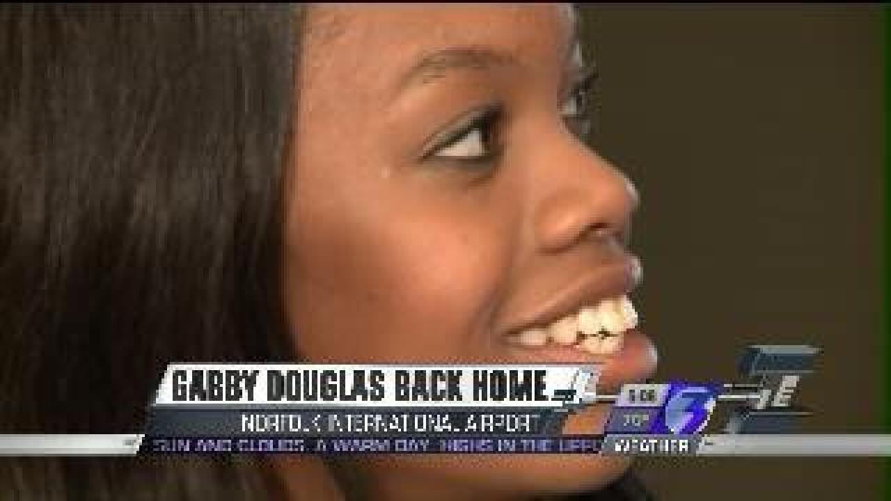 Gabby's back in Hampton Roads
