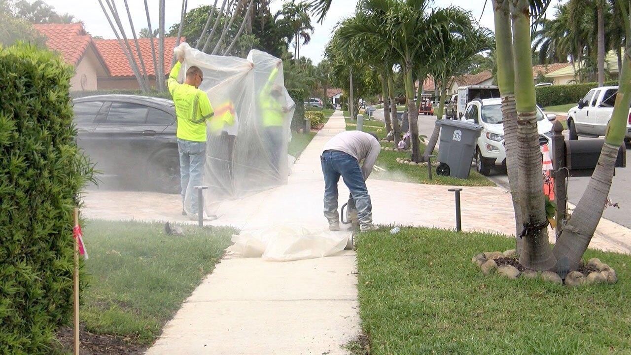 Boca Raton pavement controversy