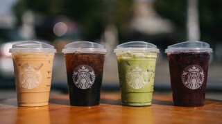 Starbucks exchanges its iconic green straws for recyclable strawless lids