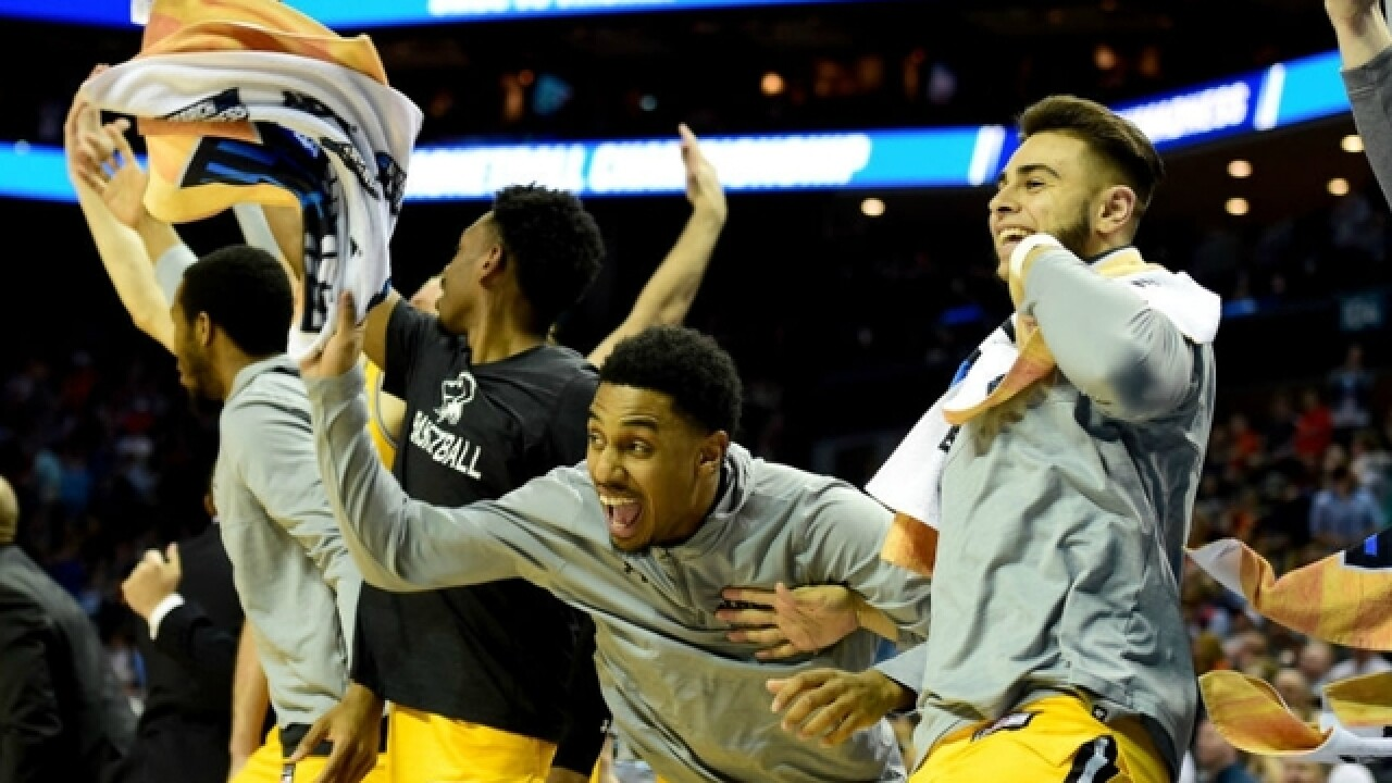No. 16 UMBC etches name in sports lore by routing No. 1 Virginia in NCAA tournament