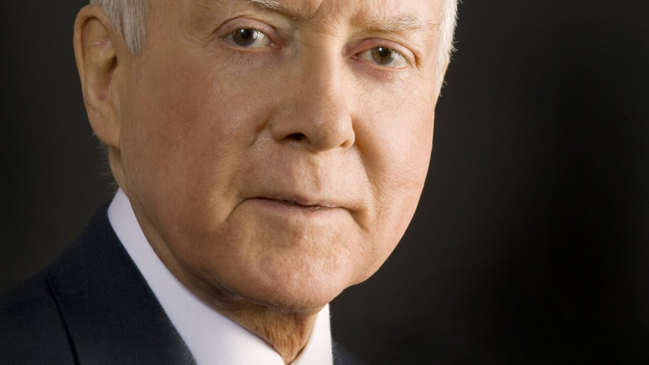 Orrin Hatch foundation seeks $2 million of taxpayer money for a center in his honor