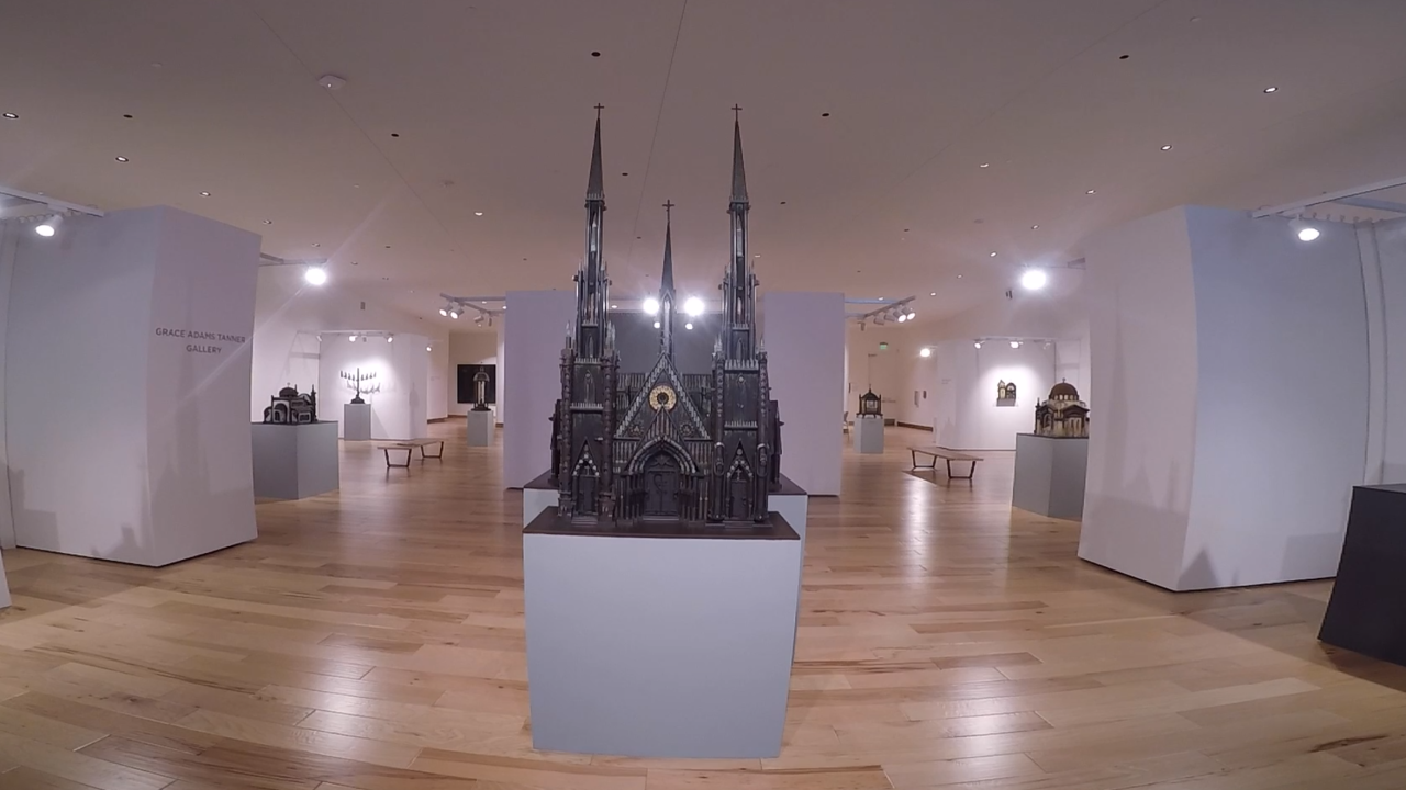 New museum displays church replicas built with ammo, guns to spark conversation