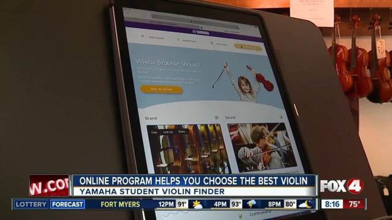 Free program helps students select instruments