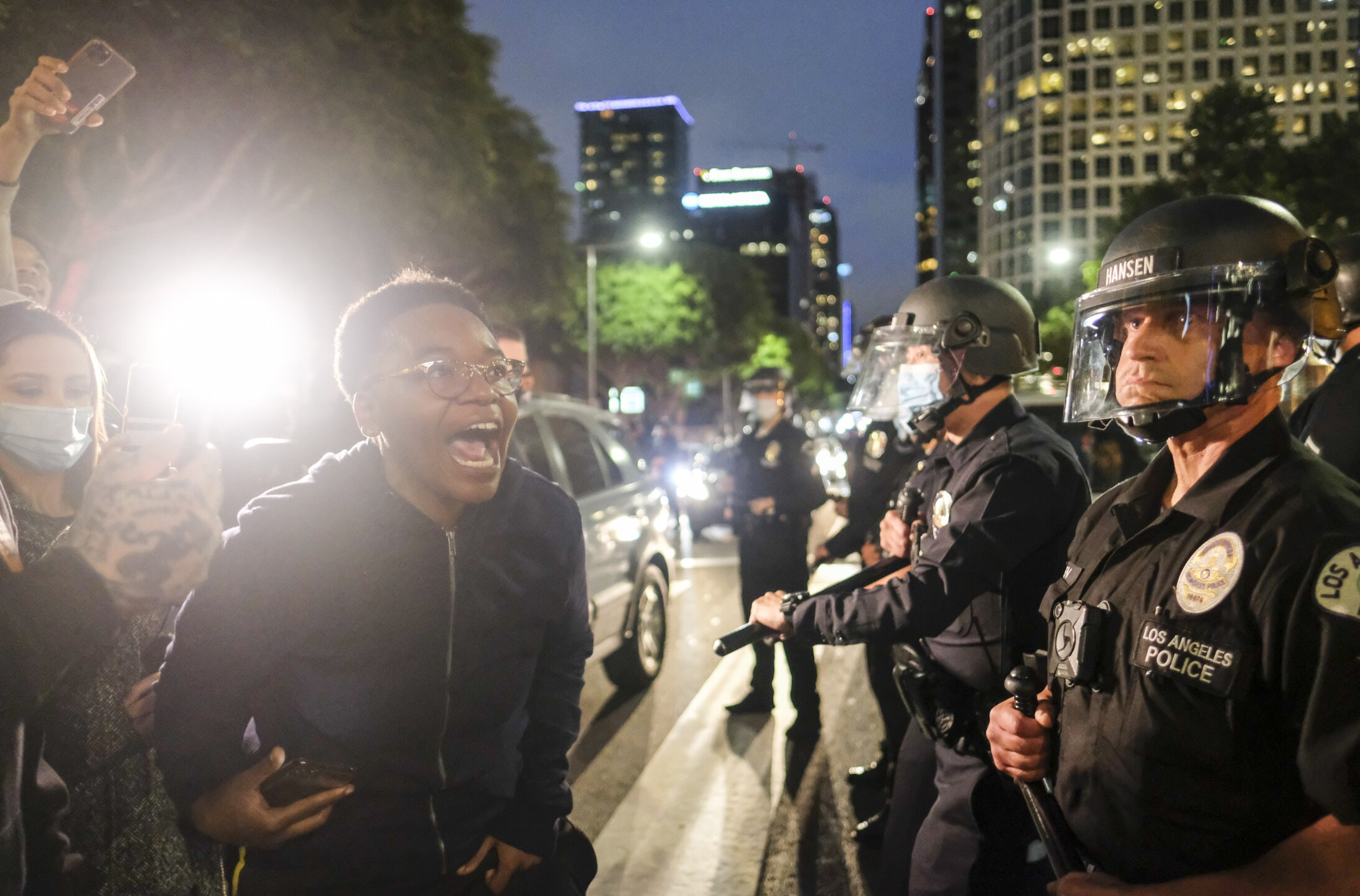 PHOTOS: Scenes from protests across U.S. Friday for George Floyd