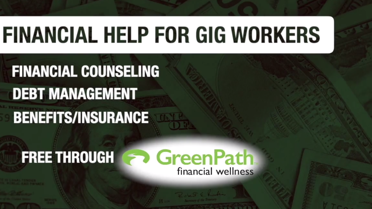 Financial help available for gig workers during COVID-19 crisis
