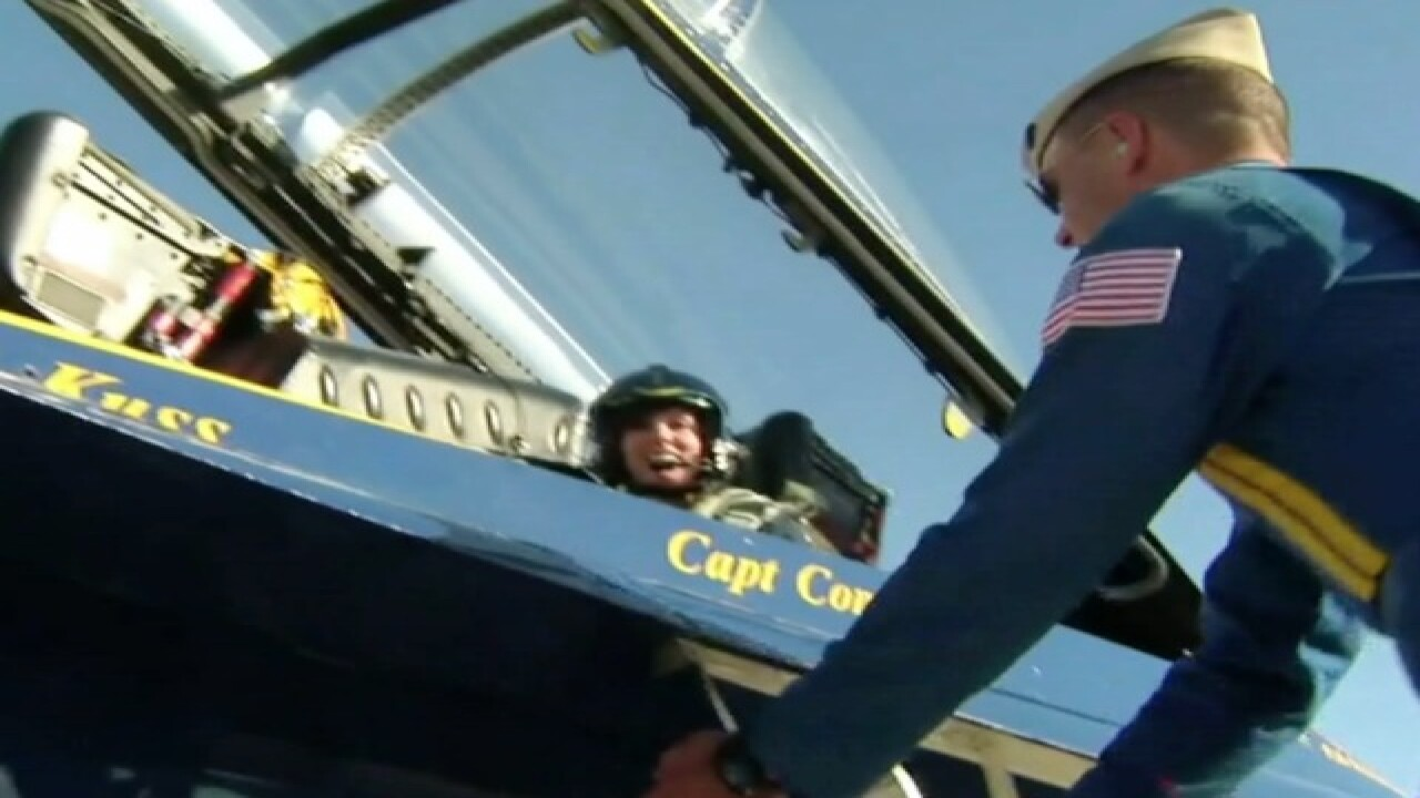 Parents of Blue Angels pilot remember son
