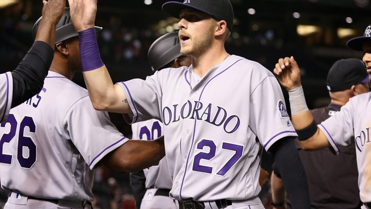 #hiSTORY: Trevor Story homers in first 3 games