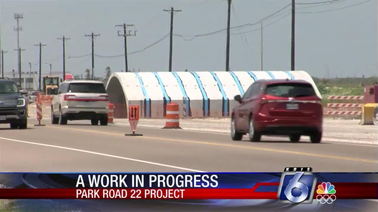 Park Road 22 project continues