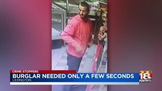 Crime Stoppers: Burglar Steals From Vehicle In Family's Garage