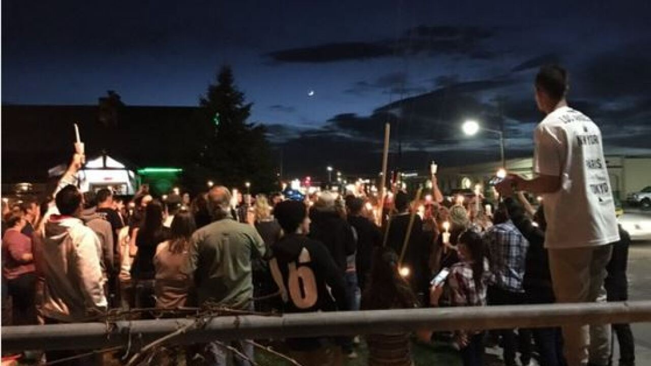 Loved ones hold vigil for man killed in motorcycle crash in Midvale