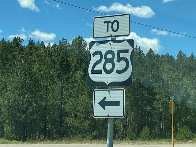 U.S. 285 Sign