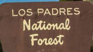 los padres national forest sign.JPG