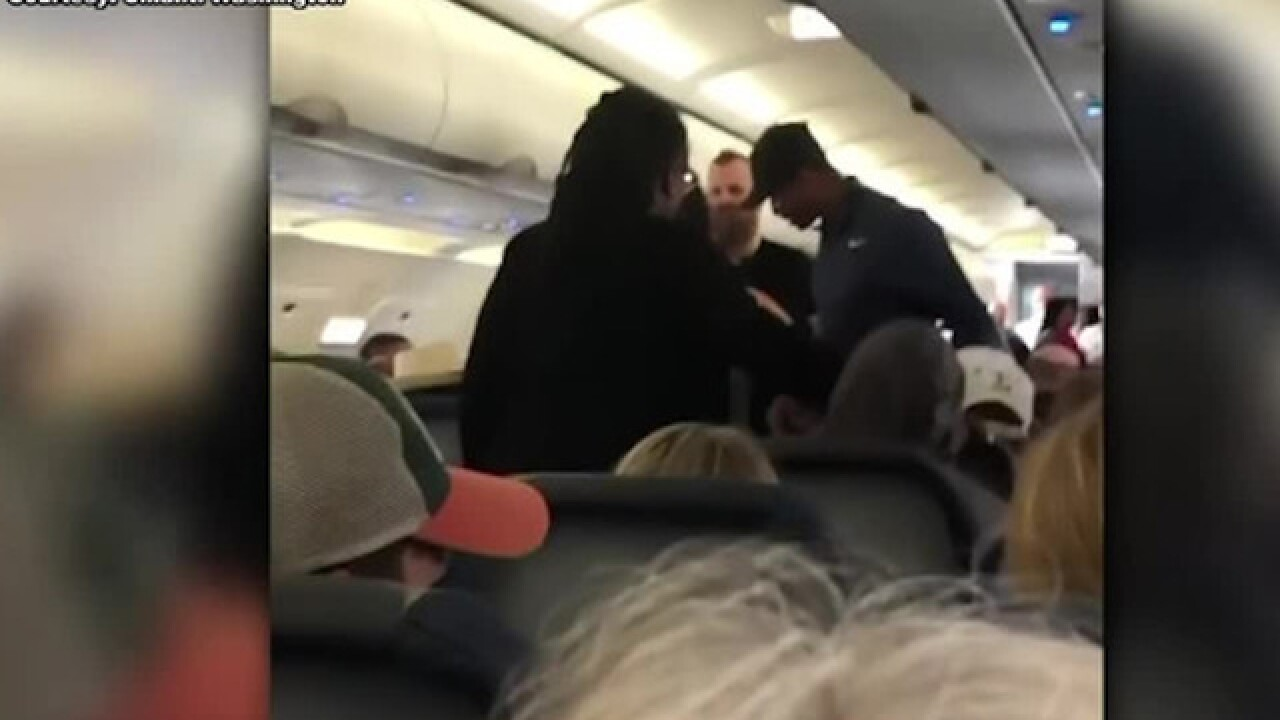 Spirit Airlines passenger removed from flight after having profanity-laced meltdown