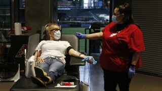 Storms and wildfires leave Red Cross with blood shortage