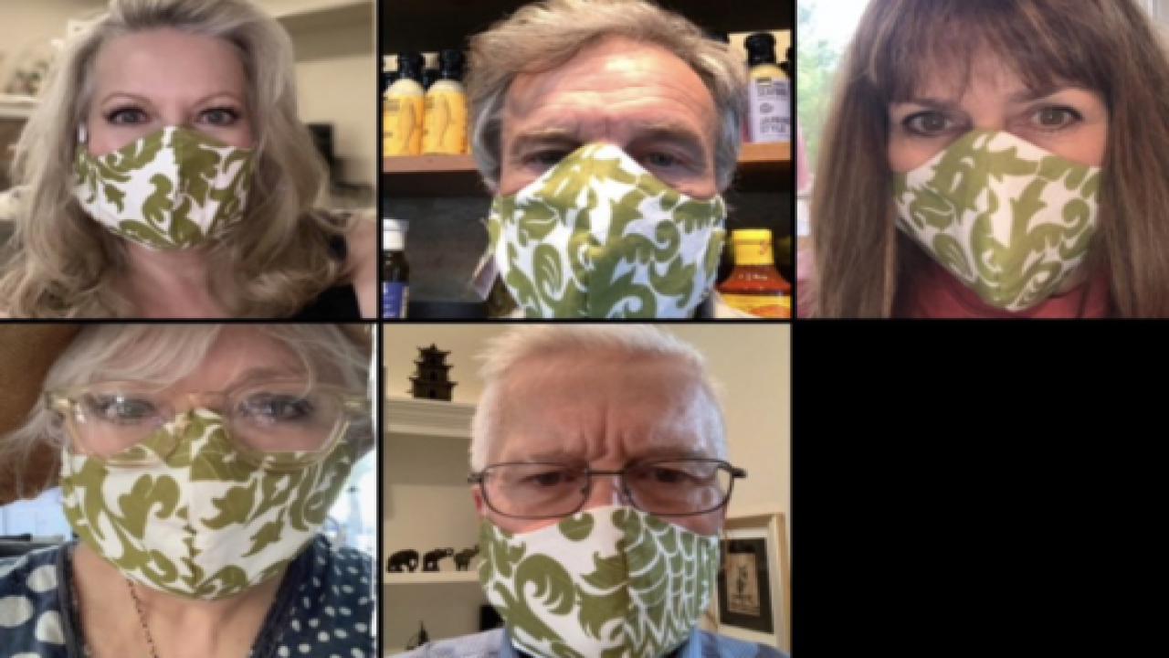 'The Sound Of Music' Cast Reunites To Wear Face Masks Inspired By Movie