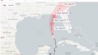 Hurricane Michael now expected to landfall as Category 4 storm