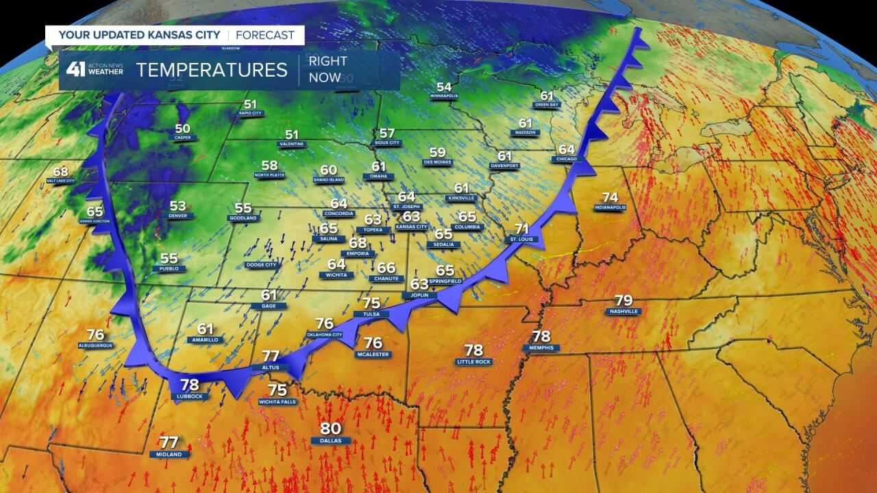 Surface Map 7 AM This Morning