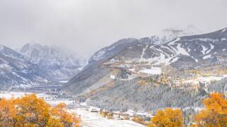 Telluride Oct 13 2021 snowstorm