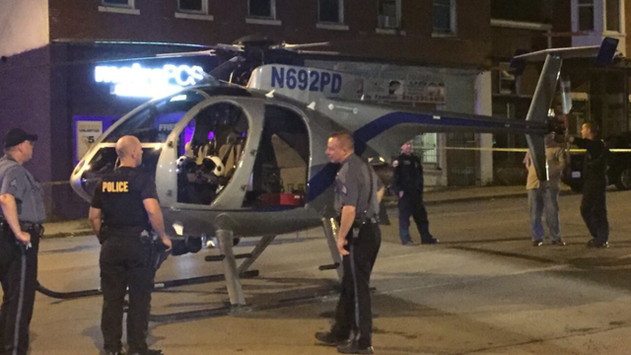 KCPD helicopter makes emergency landing