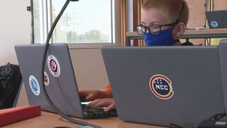 Students get cybersecurity training at National Cybersecurity Center camps
