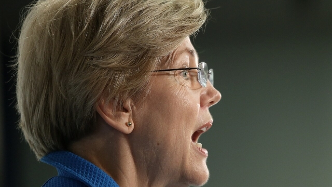 Senator Elizabeth Warren endorses Hillary Clinton for president