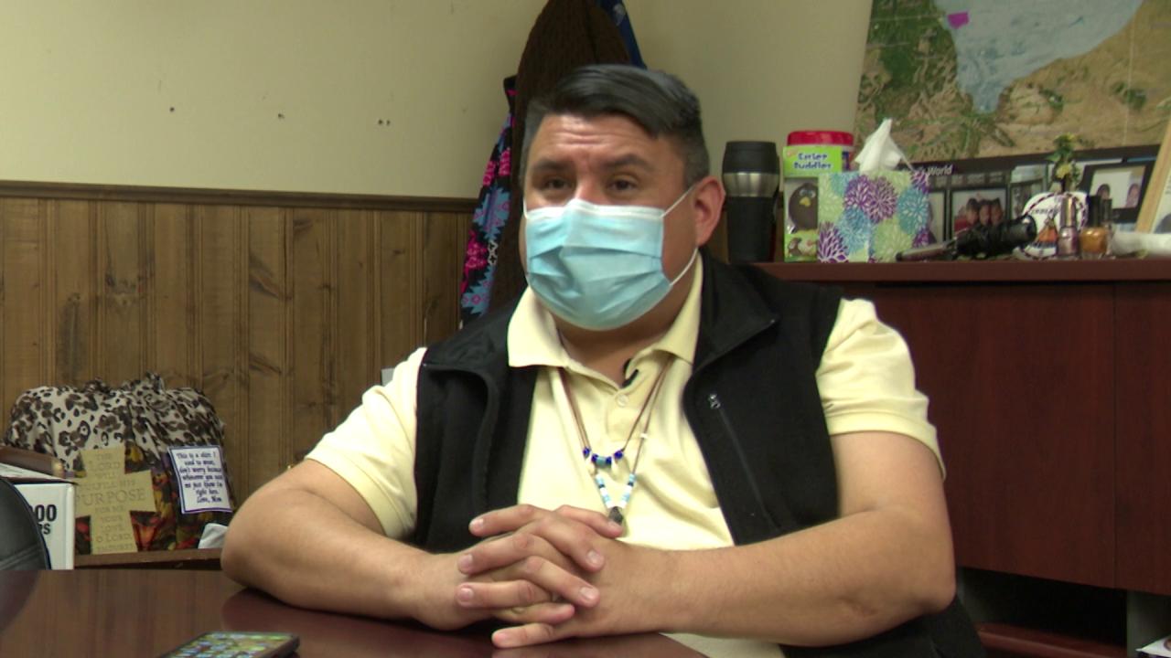 Blackfeet Tribe spokesperson James McNeely
