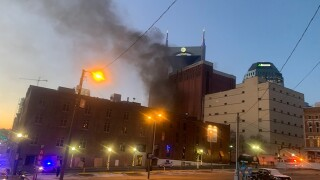 Photos: Explosion in downtown Nashville causes heavy smoke, damage