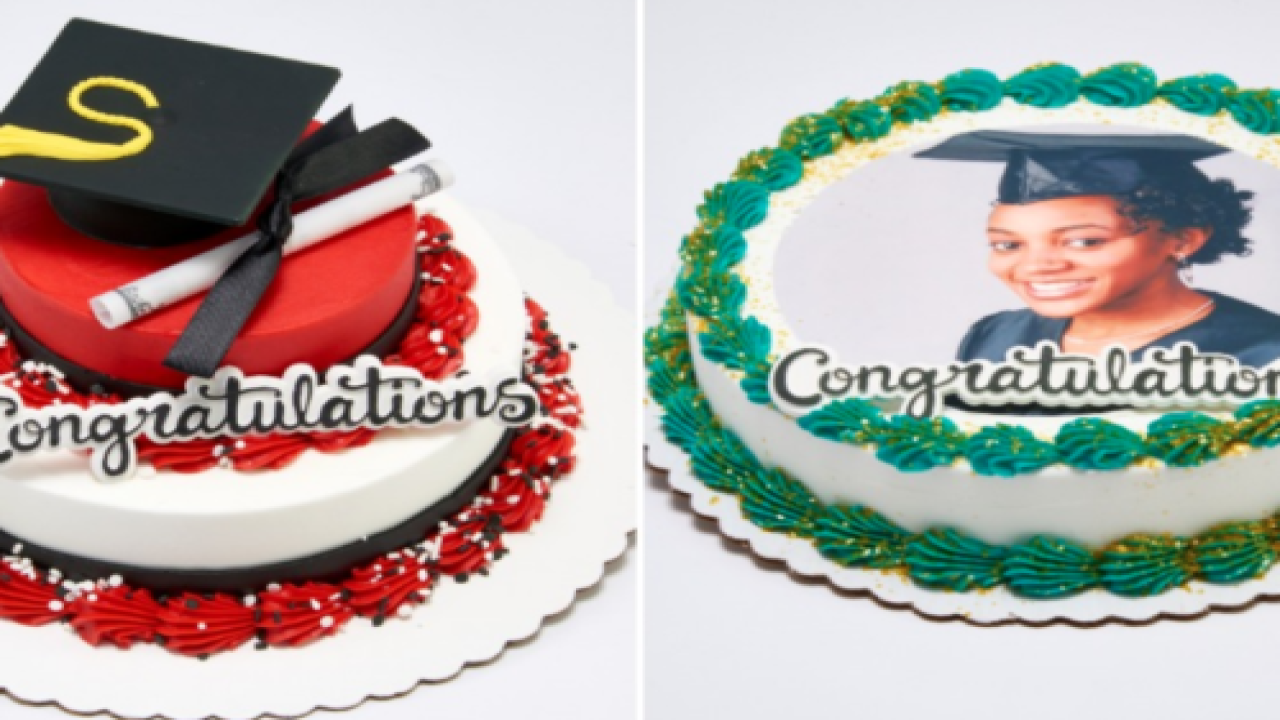 Mini Personalized Cakes Are The Perfect Way To Celebrate Graduates This Year