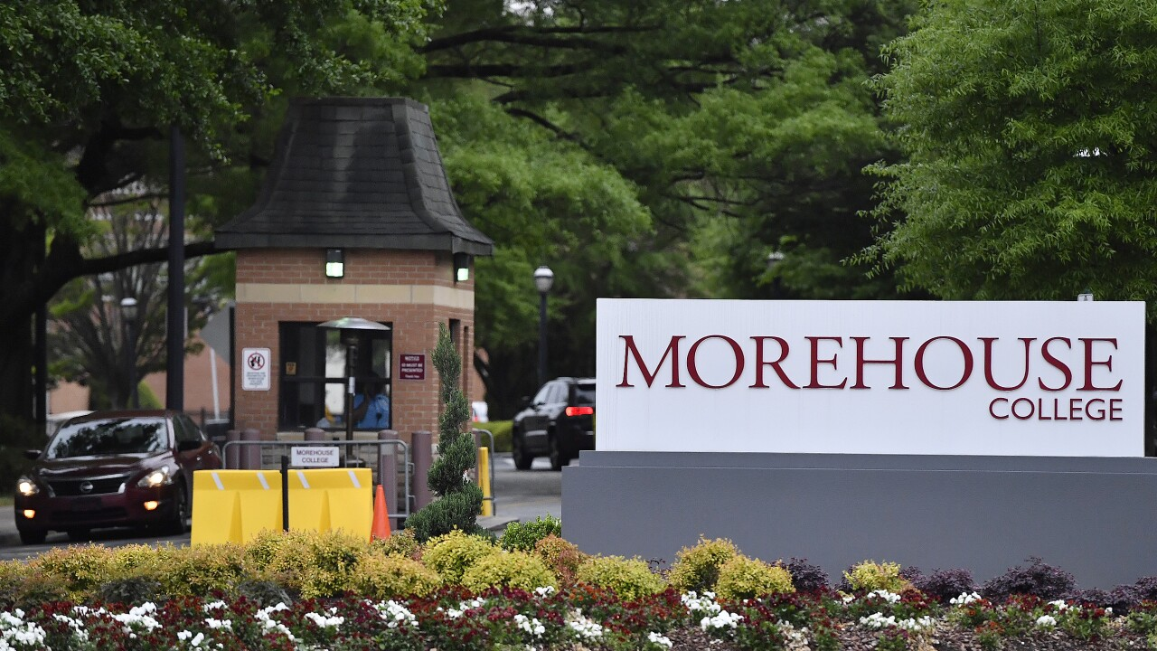 Morehouse College AP IMAGE