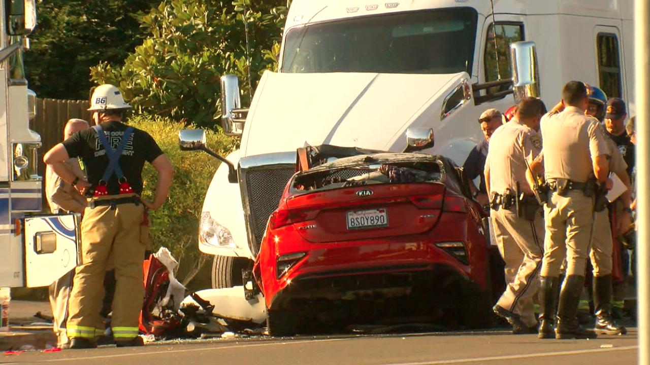 Palm Avenue accident
