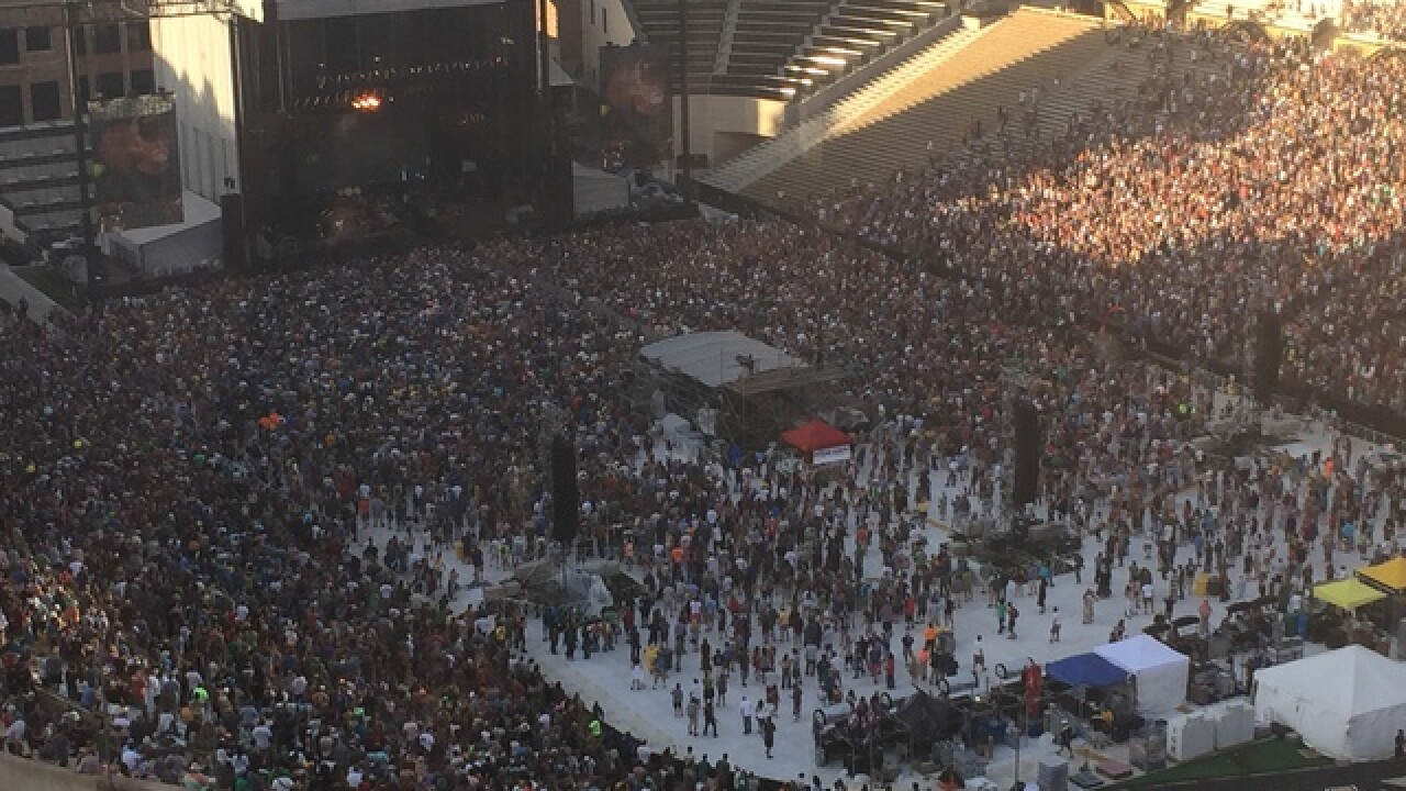 Folsom Field sees first concert in 15 years