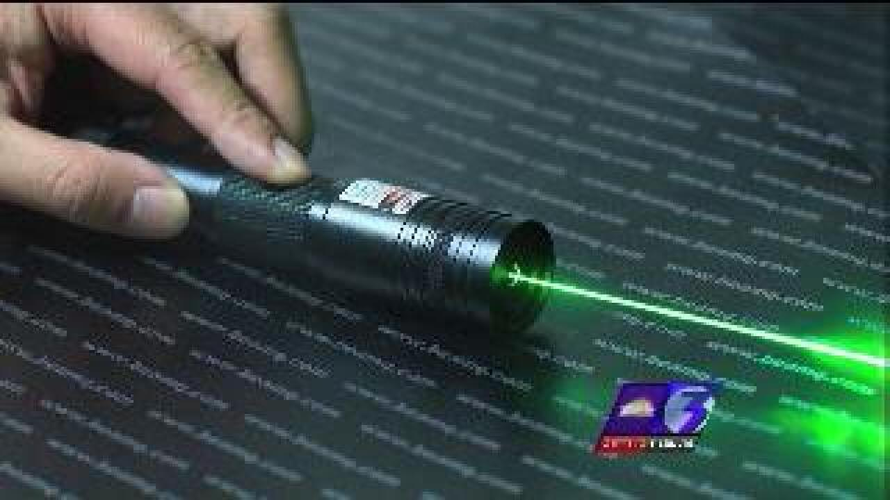 Virginia Beach man pleads guilty to laser dazzling Navy aircraft
