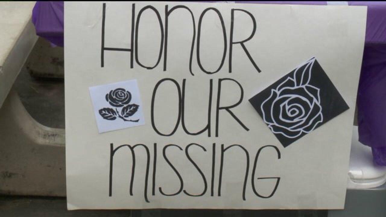 Rally held in Salt Lake City to honor missingpersons