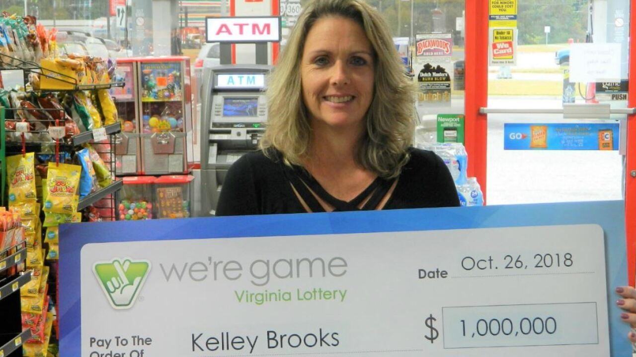 Text leads to Mega Millions win for this Virginiawoman