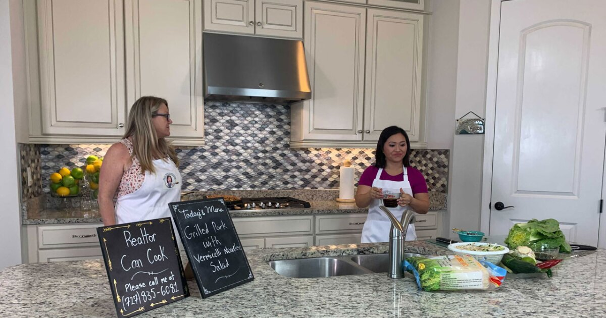 Realtor starts cooking show to bring sizzle to houses on the market