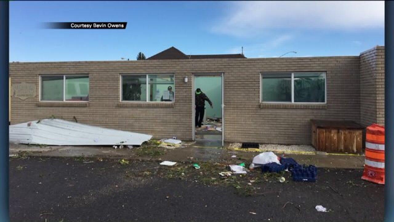 Tornado destroys Panguitch non-profitoffice