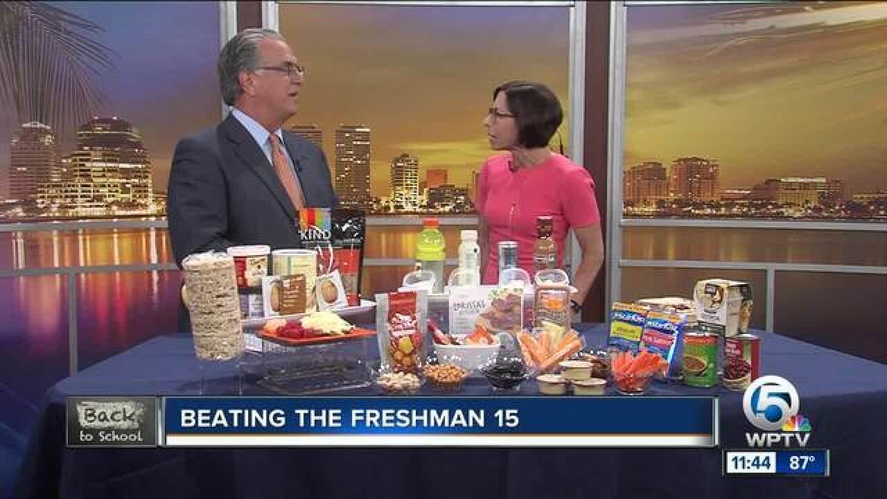 "Tips to avoid the ""freshman 15"""