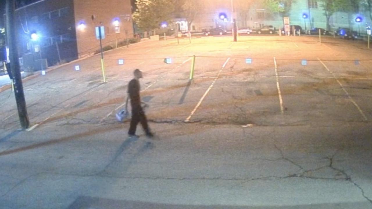 Denver arson suspect_outside City Grille