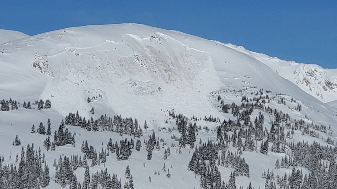 Mount Trelease avalanche on Feb. 14, 2021_1 dead_courtesy CAIC