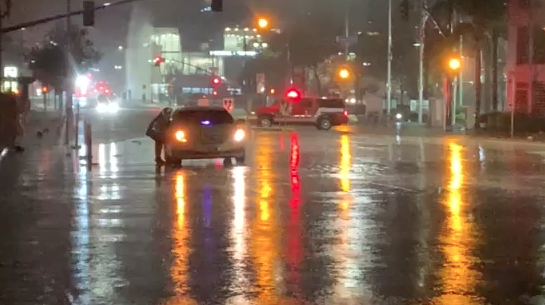 Imperial Ave flood