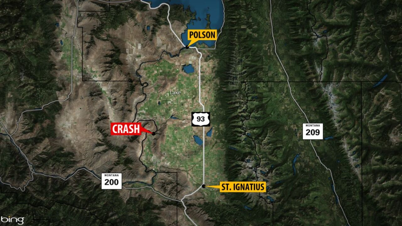 1 person dead, 2 injured in Lake County crash
