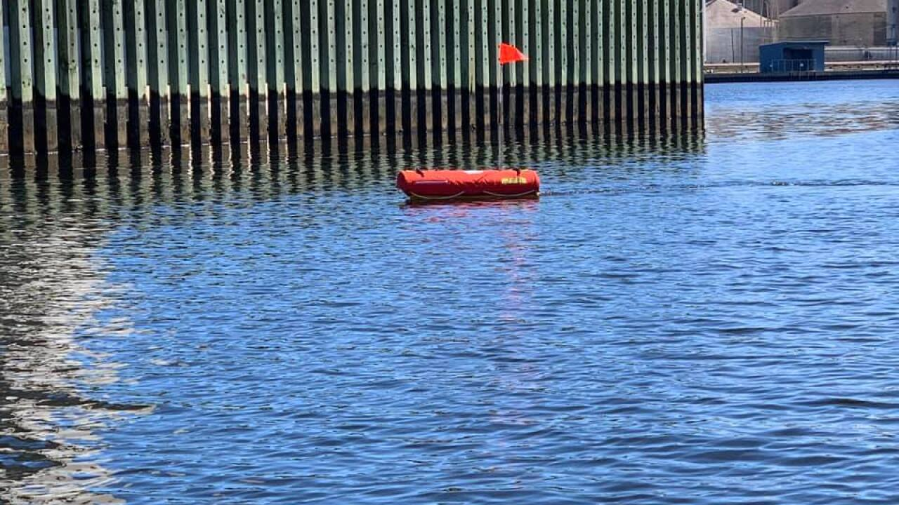Speeding through the water to save lives: E.M.I.L.Y water robot, sonar being tested by NorfolkFire-Rescue